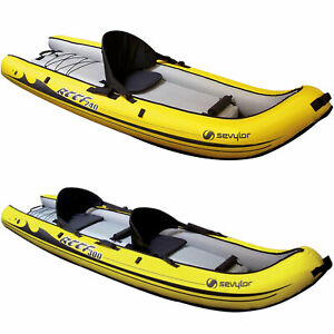 Sevylor Inflatable Reef bateaux gonflables Kayak Kayak marin plongée bateau eau