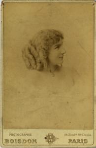 Boisdon-Portrait-d-039-une-actrice-vintage-albumen-print-Tirage-albumine