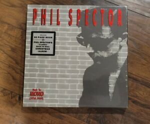 PHIL SPECTOR BACK TO MONO 4 CDS SET 1958-1969 New Sealed