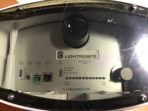 Deux Lightpointe Flightlite 100 Modèle Lfl1-0100-5hs-0er Lasers sans Fil