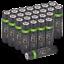miniature 36 - Rechargeable Haute capacité AAA/AA Batteries Et 8-Way dock de chargement-Venom