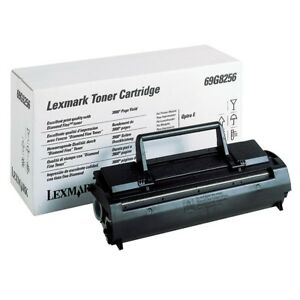 2x-Original-Lexmark-Toner-69G8256-for-Optra-E-Ef-EP-It-A-Ware