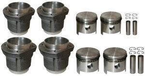 Kolben-und-Zylinder-NEU-VW-Kaefer-Bus-Typ3-50PS-1600ccm-85-5x69mm-Piston-Cylinder