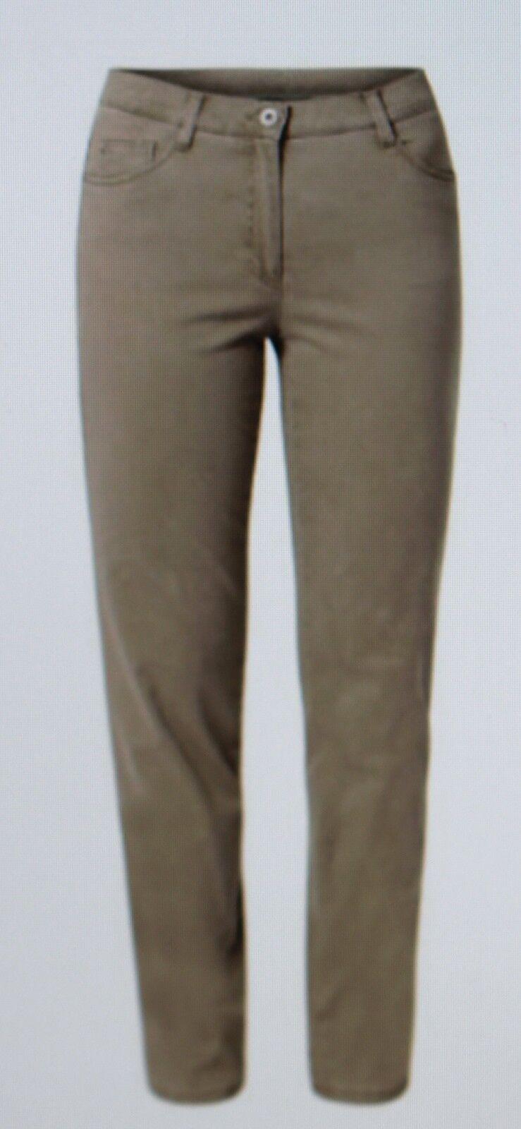 Pantalones Vaqueros de women Brax Beige Arena Modelo Carola Tamaño 40