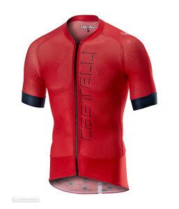 80d3cc03fc2 NEW 2019 Castelli CLIMBER'S 2.0 Full Zip Cycling Jersey : RED   eBay