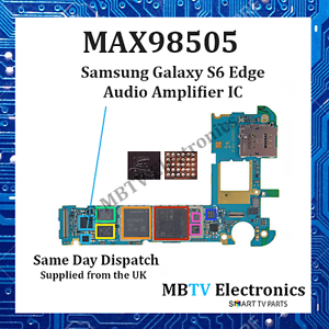 Details about MAX98505 - Samsung Galaxy S6 & s6 Edge Audio Amplifier IC -  Sound / Audio faults