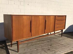 Vintage Heinrich Riestenpatt Credenza RT 200 Teak Sideboard Danish Modern Design