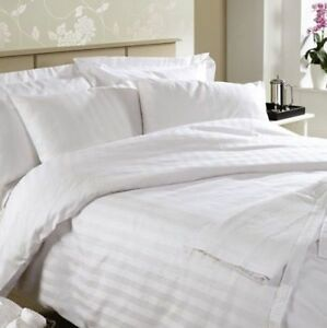 KAS 500TC 100/% Egyptian Cotton Sateen Sheet Set King /& Queen Bed Size in White