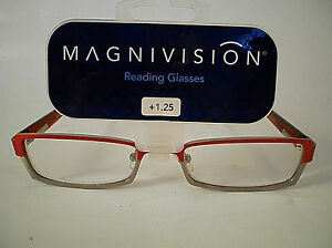 Foster Grant Magnivision Rimless Reading Glasses