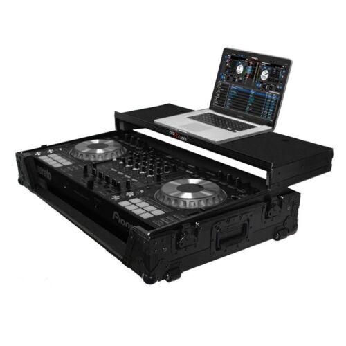ProX Fitted Case for Pioneer DDJ-SZ DDJ-SZ2 DDJ-RZ All Black w// Laptop Glide
