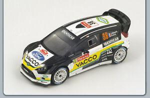 1/43 Ford Fiesta Rs Wrc Rallye Yacco de Monte Carlo 2012 J.maurin