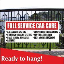 Full Service Car Care Advertising Vinyl Banner Mesh Banner Sign Ac Tire Repair
