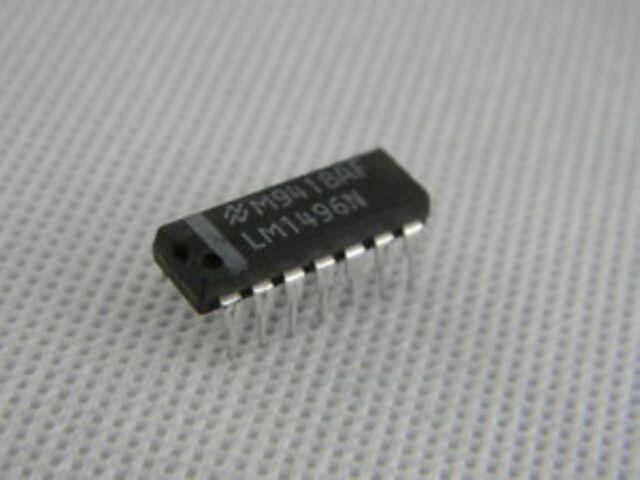5 pcs NS LM1496N DIP-14 Balanced Modulator-Demodulator
