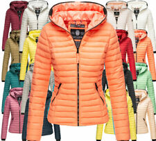 Navahoo Damen Jacke Übergangsjacke Frühlingsjacke Steppjacke Kimuk kapuze NEU