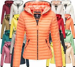 Navahoo Damen Herbst  Winter Jacke FVSC Übergangsjacke Steppjacke Kimuk kapuze