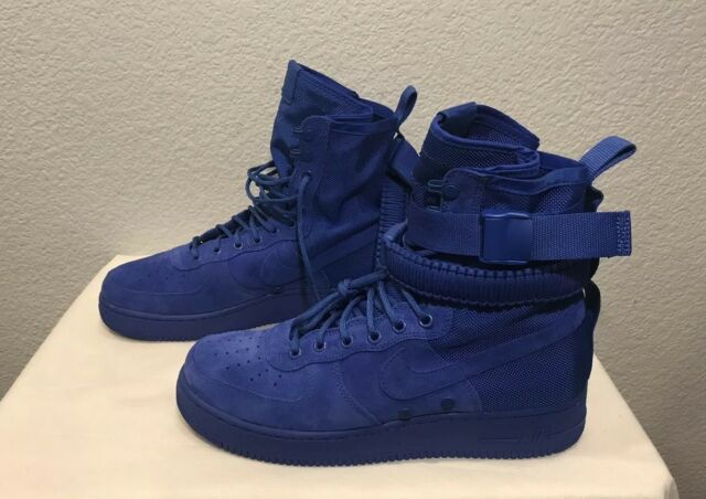 Nike SF Air Force 1 Hi Game Royal Blue Suede Men's Trainers