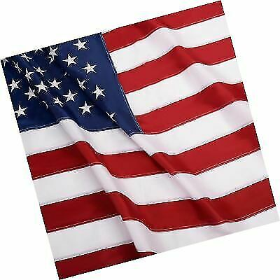 Sewn Stripes G128 American Flag US USA3x5 ftEmbroidered Stars