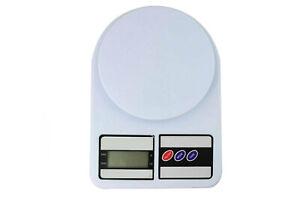 Bilancia digitale da cucina lcd 1gr a 7kg tasto tara mini pesa ingredienti