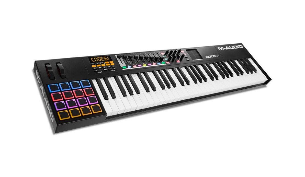 M-AUDIO CODE 61 nero - Master Keyboard MIDI USB 61 Tasti