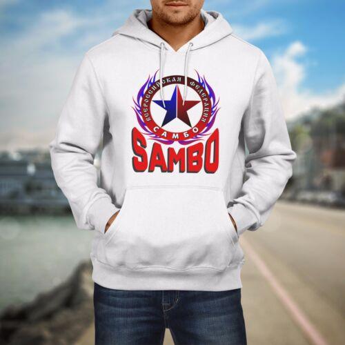 Sambo Russian Martial Art Combat Sport Federation Hoodie Sweatshirt Size S-5XL