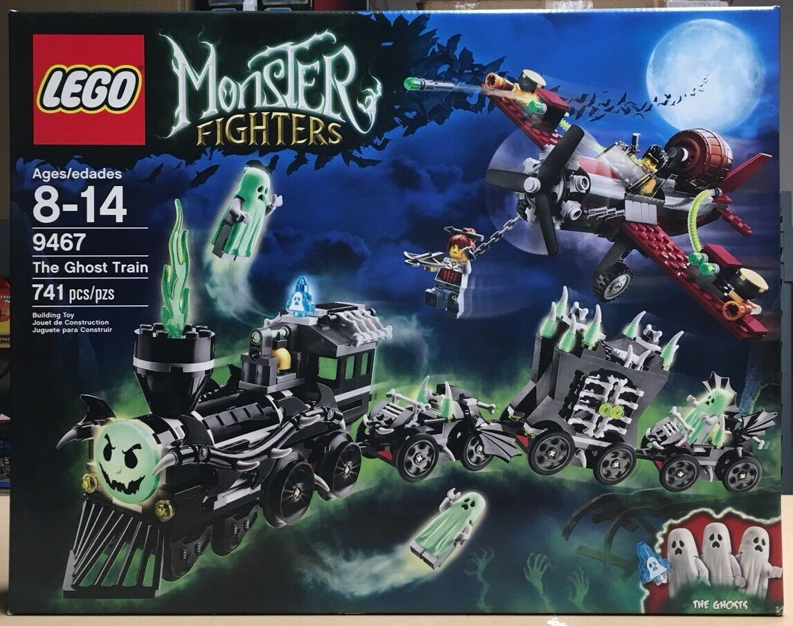 LEGO Monster Fighters The Ghost Train (9467) | eBay