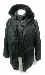 Ugg-Australia-Men-039-s-Butte-Parka-Winter-Jacket-Black-1102977-Removable-Vest