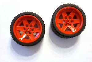 Lego 4x Tyres 68.8 x 38 ZR