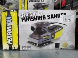 1/3 SHEET FINISHING SANDER 2.2 AMP Toronto (GTA) Preview