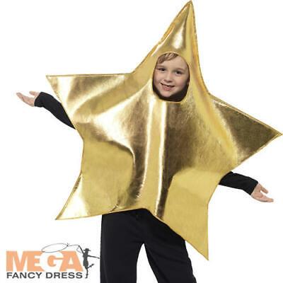Shining Star Kids Costume Bambini Bambine Natale Natività Giocare Costume Outfit-mostra Il Titolo Originale Per Produrre Un Effetto Verso Una Visione Chiara