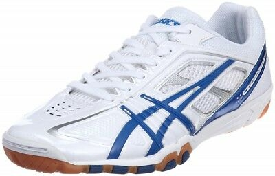 ASICS Japan Men's Attack EXCOUNTER Table Tennis Shoes TPA327 White Ping Pong | eBay
