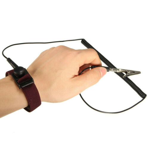 Electronics Repair Work Tools Anti-Static Wristband Adjustable ESD Discharge