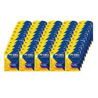 50 X 9 Volts Extra Heavy Duty (9v) Zinc Carbon Battery Batteries