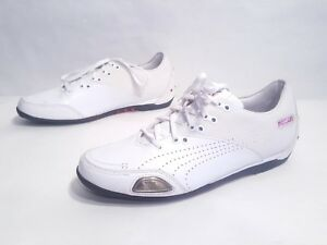 097f82fe73ec NWOB Rare Puma Ducati En Route LT Motorsport Shoes White Leather US ...