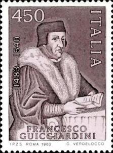 ITALIA-ITALY-1983-Francesco-Guicciardini-Writer-Poet-Stamp-MNH