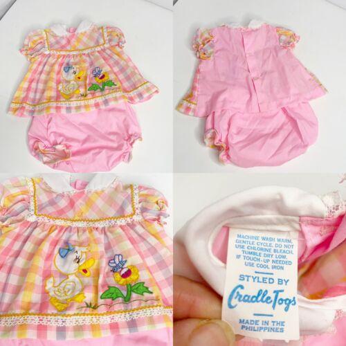 Lot 4 Vintage Baby Girl Dresses