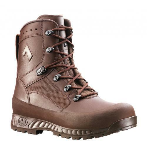 HAIX Combat Boots brown leather Combat Boots Work boots boots Hiking boots