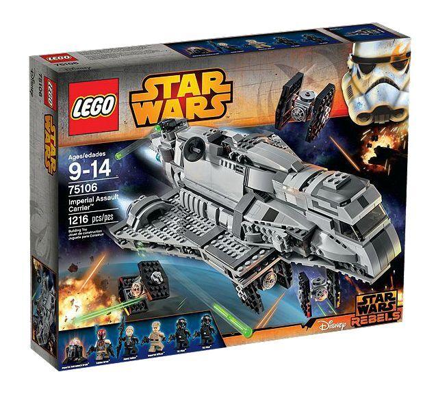 LEGO® LEGO® LEGO® Star Wars™ 75106 Imperial Assault Carrier™ NEU OVP NEW MISB NRFB 5aeecd