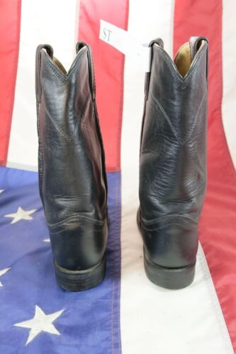 N Marron D'occassion code Santiags 6b St2043 Country Justin Femme Cuir Bottes ta7wII