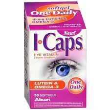 ICaps  i-caps  VISION HEALTH Eye Vitamin Lutein & Omega-3 Exp 09/17  30 SOFTGELS