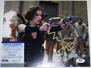 Milla Jovovich Autographed Signed 8x10 Photo Reprint | eBay