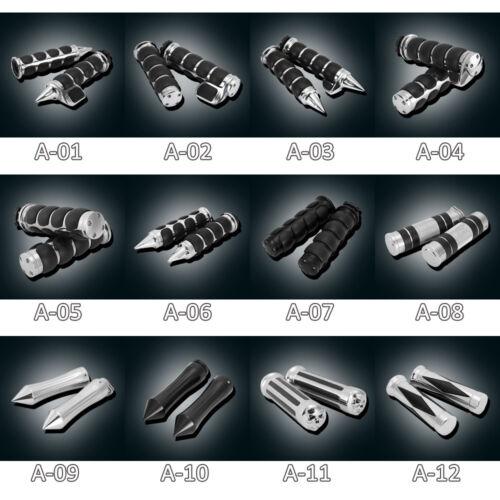 "1/"" Handlebar Hand Grips For Honda Shadow Spirit Ace Aero VT750 VT1100 VTX1300"