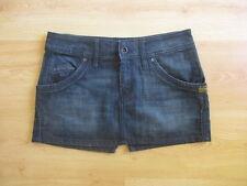 mini jupe G-Star Bleu Taille 40 à - 53%