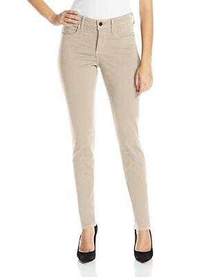 NYDJ Jeans 8P Samantha Brown Hayseed Colored Slim Stretch Womens Not Your Daughters Jeans /…