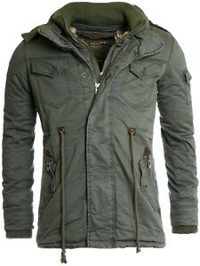 Corto Uomo 413 Jk Giacca Parka Trench amp  Mil Young Verde Cappotto green  Rich x6nw0nC ce7cc7be4ef