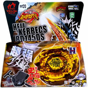 Beyblade-BB99-Hades-Hell-Kerbecs-Metal-Masters-4D-Beyblade-with-Launcher-New