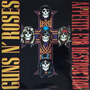 Details about Guns N' Roses Appetite For Destruction 2 LP 180 Gram Vinyl  Album DELUXE EDITION