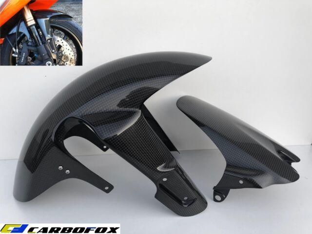 Carbon Fiber Front Fender +Rear Hugger Mudguard SUZUKI GSXR 600/750  2006-2010 K6