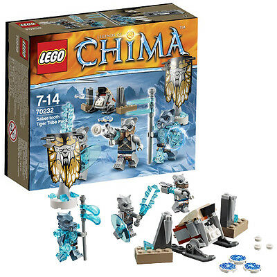 70232 SABER-TOOTH TIGER TRIBE PACK lego legos set NEW legends of chima SEALED