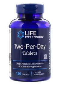 LIFE-EXTENSION-Two-Per-Day-Tablets-120-Tabs-Multivitamin-Mineral-Supplement