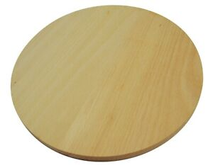 Round circular wooden board with handle serving pizza solid wood 30cm 30 cm //L30